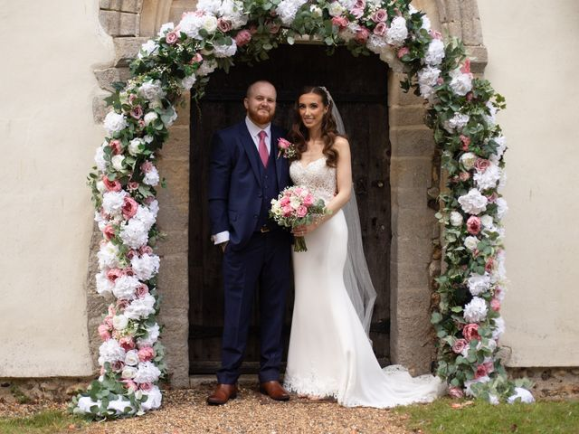 Kendall and Rob's Wedding in Little Waltham, Essex 36