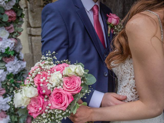 Kendall and Rob's Wedding in Little Waltham, Essex 37