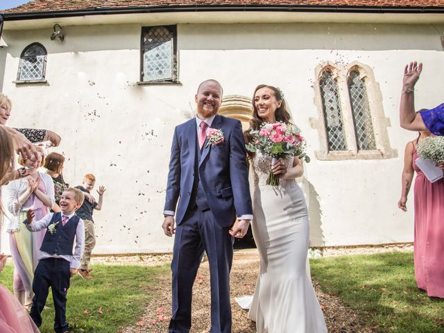Kendall and Rob's Wedding in Little Waltham, Essex 40