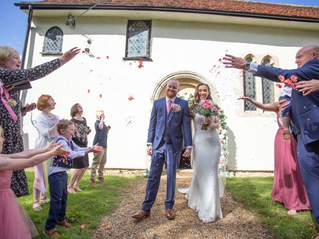 Kendall and Rob's Wedding in Little Waltham, Essex 41