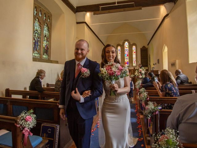 Kendall and Rob's Wedding in Little Waltham, Essex 42