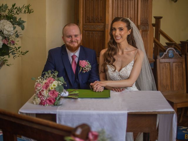 Kendall and Rob's Wedding in Little Waltham, Essex 43