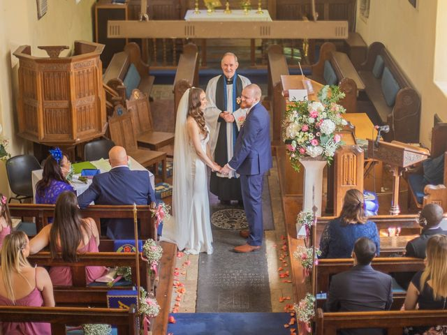 Kendall and Rob's Wedding in Little Waltham, Essex 44
