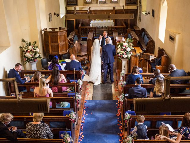 Kendall and Rob's Wedding in Little Waltham, Essex 49