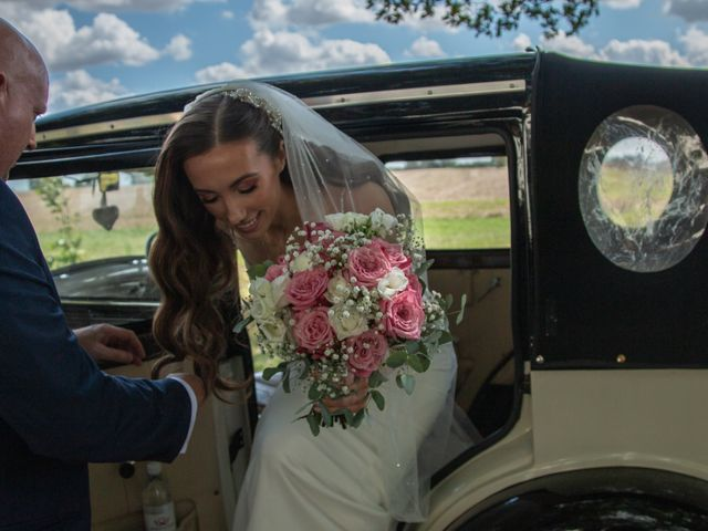 Kendall and Rob's Wedding in Little Waltham, Essex 56