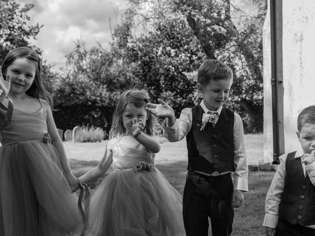 Kendall and Rob's Wedding in Little Waltham, Essex 57