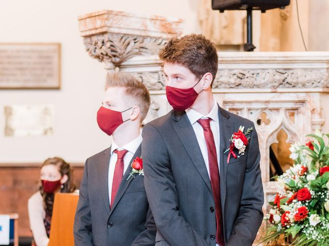 Jacob and Stella's Wedding in Warwick, Warwickshire 13