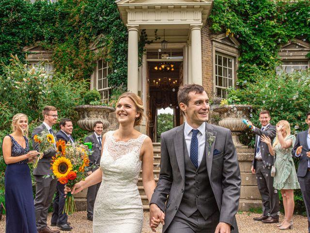 Zack and Georgia's Wedding in Hampton, Middlesex 1