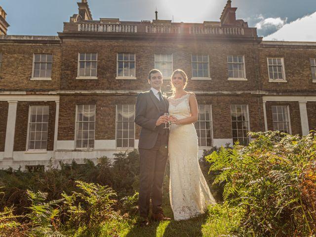 Zack and Georgia's Wedding in Hampton, Middlesex 86
