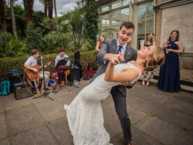 Zack and Georgia's Wedding in Hampton, Middlesex 111