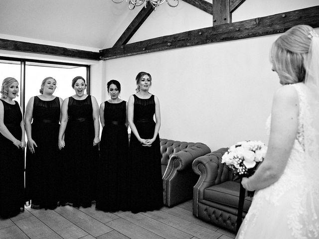 Nicola and Jonny's Wedding in Rushton Spencer, Cheshire 7
