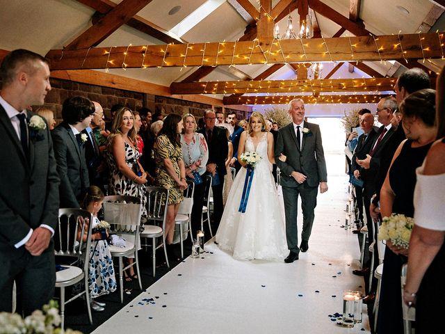 Nicola and Jonny's Wedding in Rushton Spencer, Cheshire 10