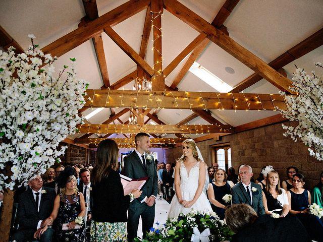 Nicola and Jonny's Wedding in Rushton Spencer, Cheshire 11