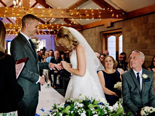 Nicola and Jonny's Wedding in Rushton Spencer, Cheshire 12