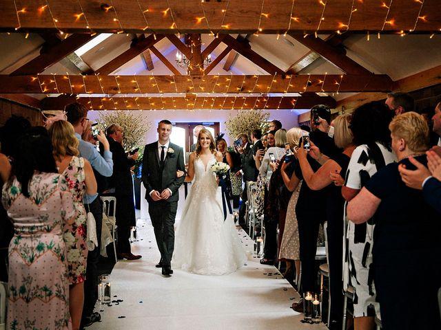Nicola and Jonny's Wedding in Rushton Spencer, Cheshire 13