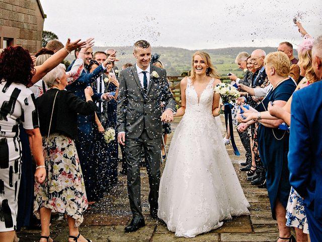 Nicola and Jonny's Wedding in Rushton Spencer, Cheshire 16