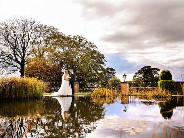 Nicola and Jonny's Wedding in Rushton Spencer, Cheshire 1