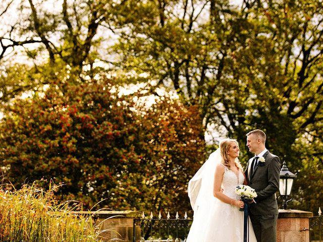 Nicola and Jonny's Wedding in Rushton Spencer, Cheshire 18