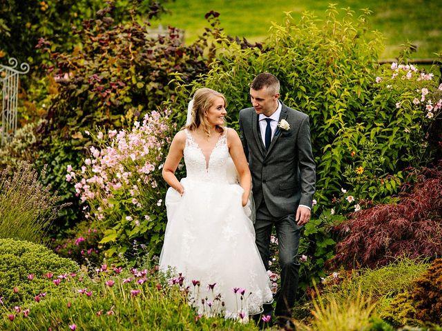Nicola and Jonny's Wedding in Rushton Spencer, Cheshire 20