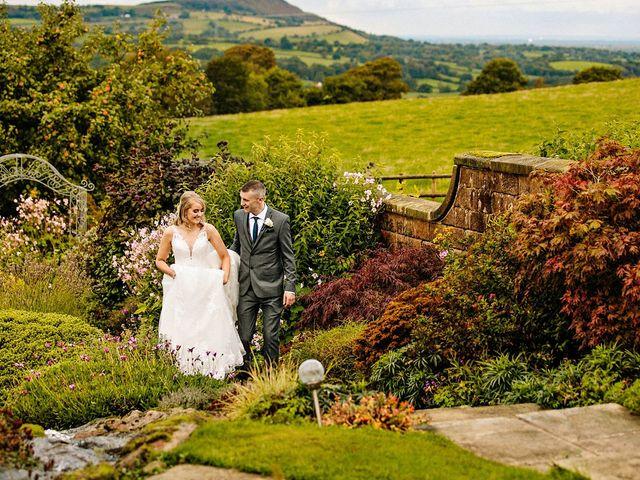 Nicola and Jonny's Wedding in Rushton Spencer, Cheshire 21