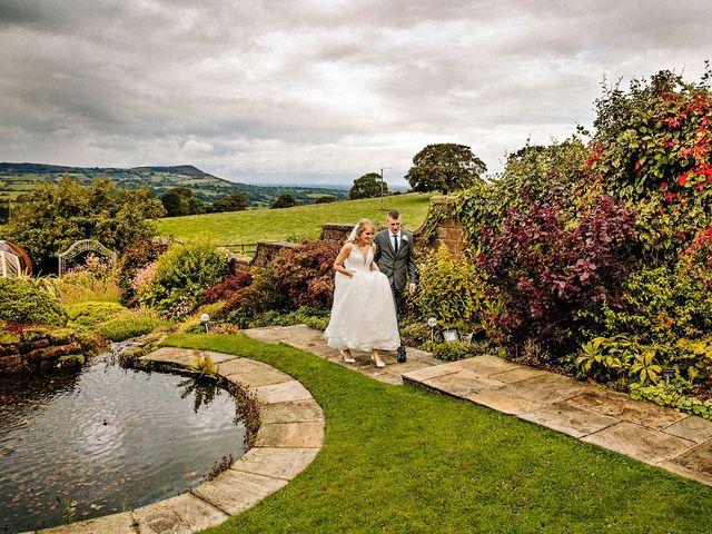 Nicola and Jonny's Wedding in Rushton Spencer, Cheshire 22