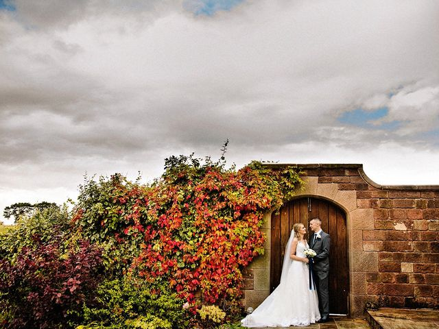 Nicola and Jonny's Wedding in Rushton Spencer, Cheshire 23