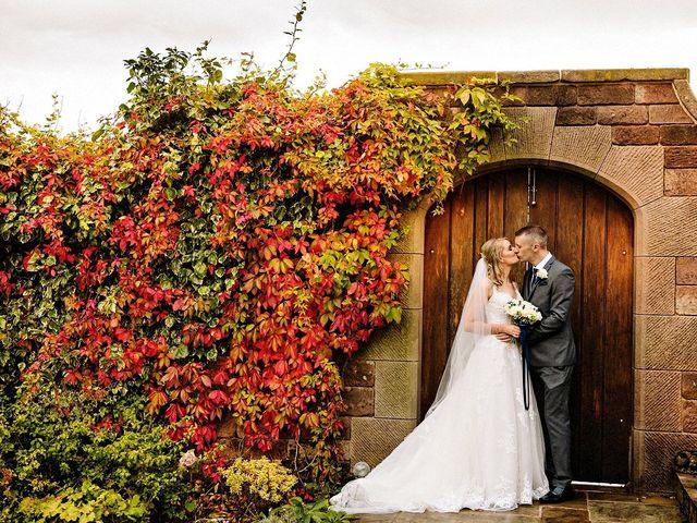 Nicola and Jonny's Wedding in Rushton Spencer, Cheshire 24