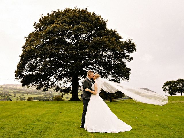 Nicola and Jonny's Wedding in Rushton Spencer, Cheshire 26