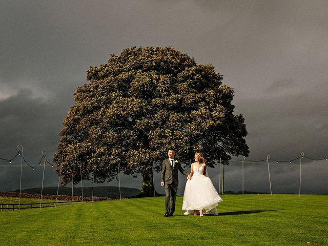 Nicola and Jonny's Wedding in Rushton Spencer, Cheshire 29