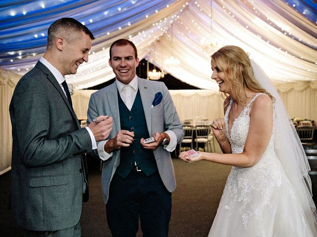 Nicola and Jonny's Wedding in Rushton Spencer, Cheshire 30