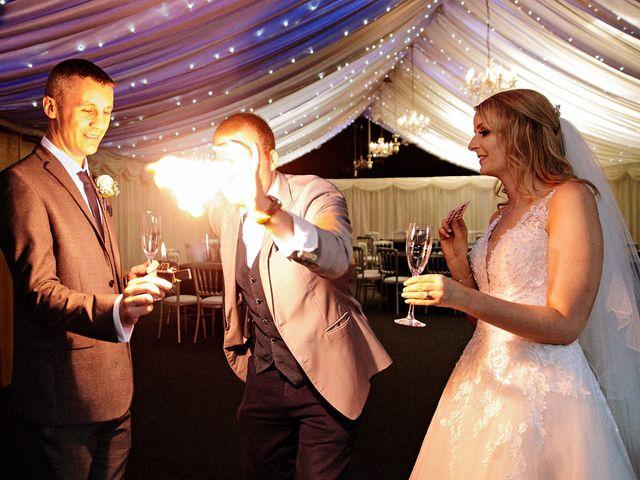 Nicola and Jonny's Wedding in Rushton Spencer, Cheshire 32