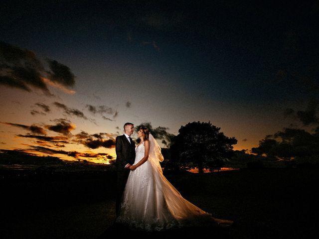 Nicola and Jonny's Wedding in Rushton Spencer, Cheshire 33