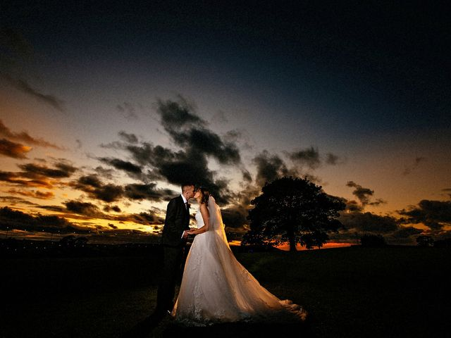 Nicola and Jonny's Wedding in Rushton Spencer, Cheshire 34