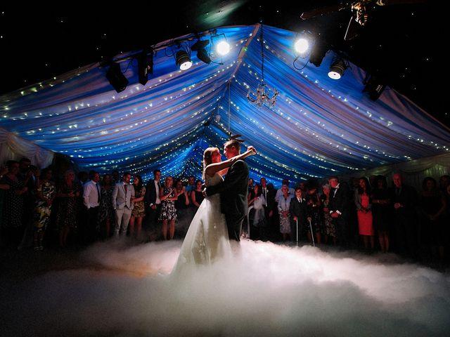 Nicola and Jonny's Wedding in Rushton Spencer, Cheshire 35