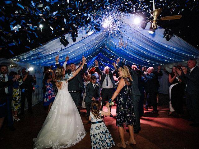 Nicola and Jonny's Wedding in Rushton Spencer, Cheshire 37