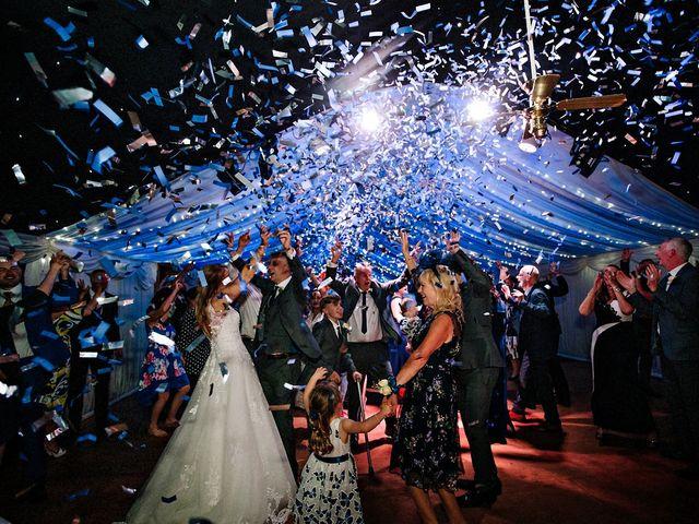 Nicola and Jonny's Wedding in Rushton Spencer, Cheshire 38