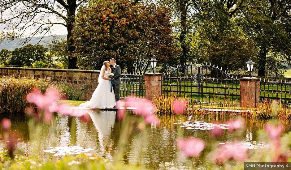 Nicola and Jonny's Wedding in Rushton Spencer, Cheshire