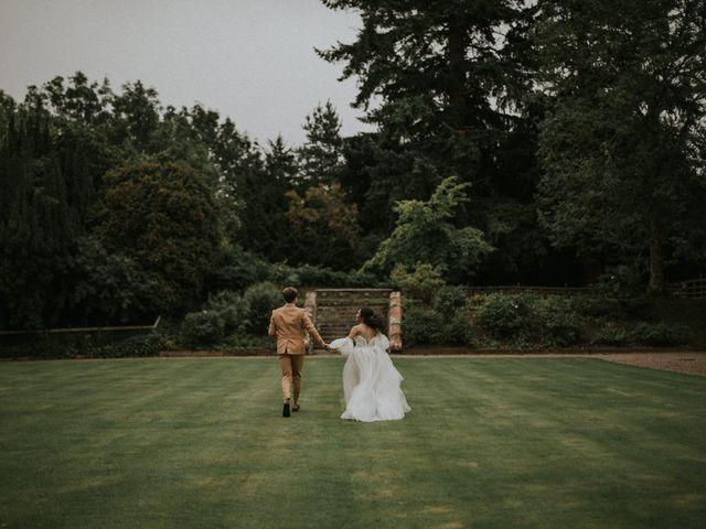 Ilya and Kamilla's Wedding in Scottish Borders, Lothian & Borders 53