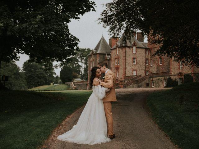 Ilya and Kamilla's Wedding in Scottish Borders, Lothian & Borders 89