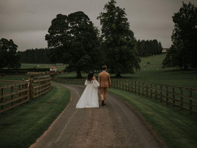 Ilya and Kamilla's Wedding in Scottish Borders, Lothian & Borders 91