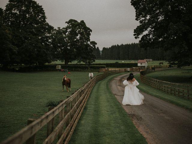 Ilya and Kamilla's Wedding in Scottish Borders, Lothian & Borders 92