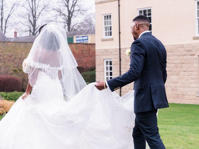 Ben and Rufaro's Wedding in Sedgefield, Durham 21
