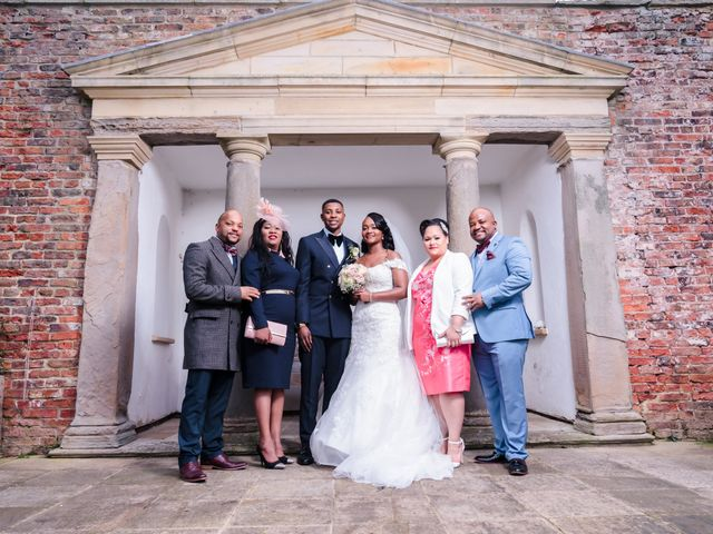 Ben and Rufaro's Wedding in Sedgefield, Durham 25