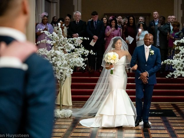 David and Kira's Wedding in Nr Worcester, Worcestershire 14
