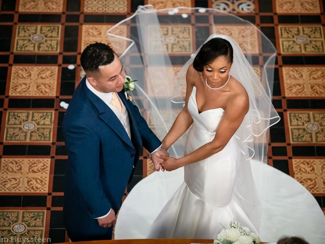 David and Kira's Wedding in Nr Worcester, Worcestershire 17