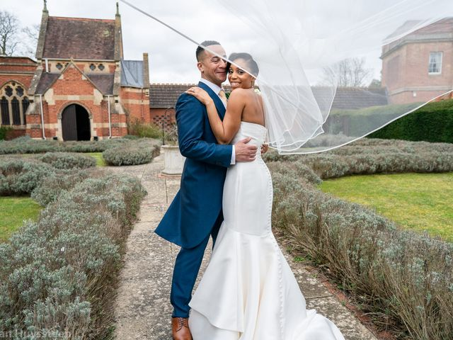 David and Kira's Wedding in Nr Worcester, Worcestershire 30