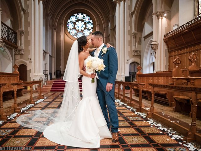 David and Kira's Wedding in Nr Worcester, Worcestershire 34