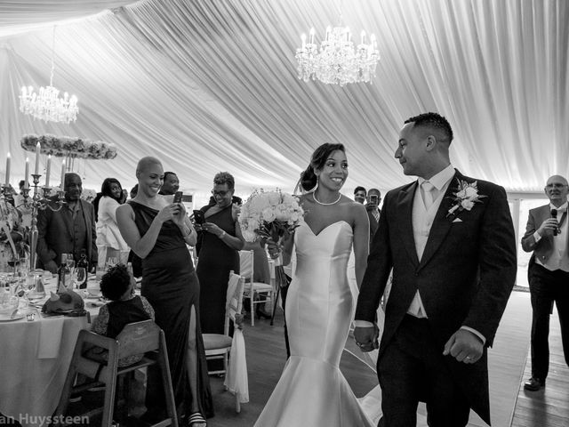 David and Kira's Wedding in Nr Worcester, Worcestershire 36
