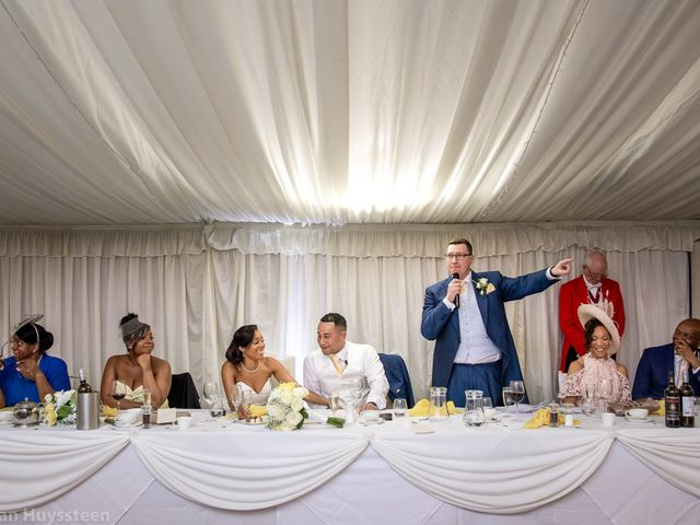 David and Kira's Wedding in Nr Worcester, Worcestershire 43