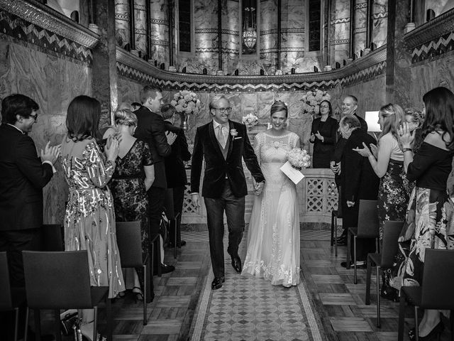 Ross and Emma's Wedding in City of London, East Central London 26